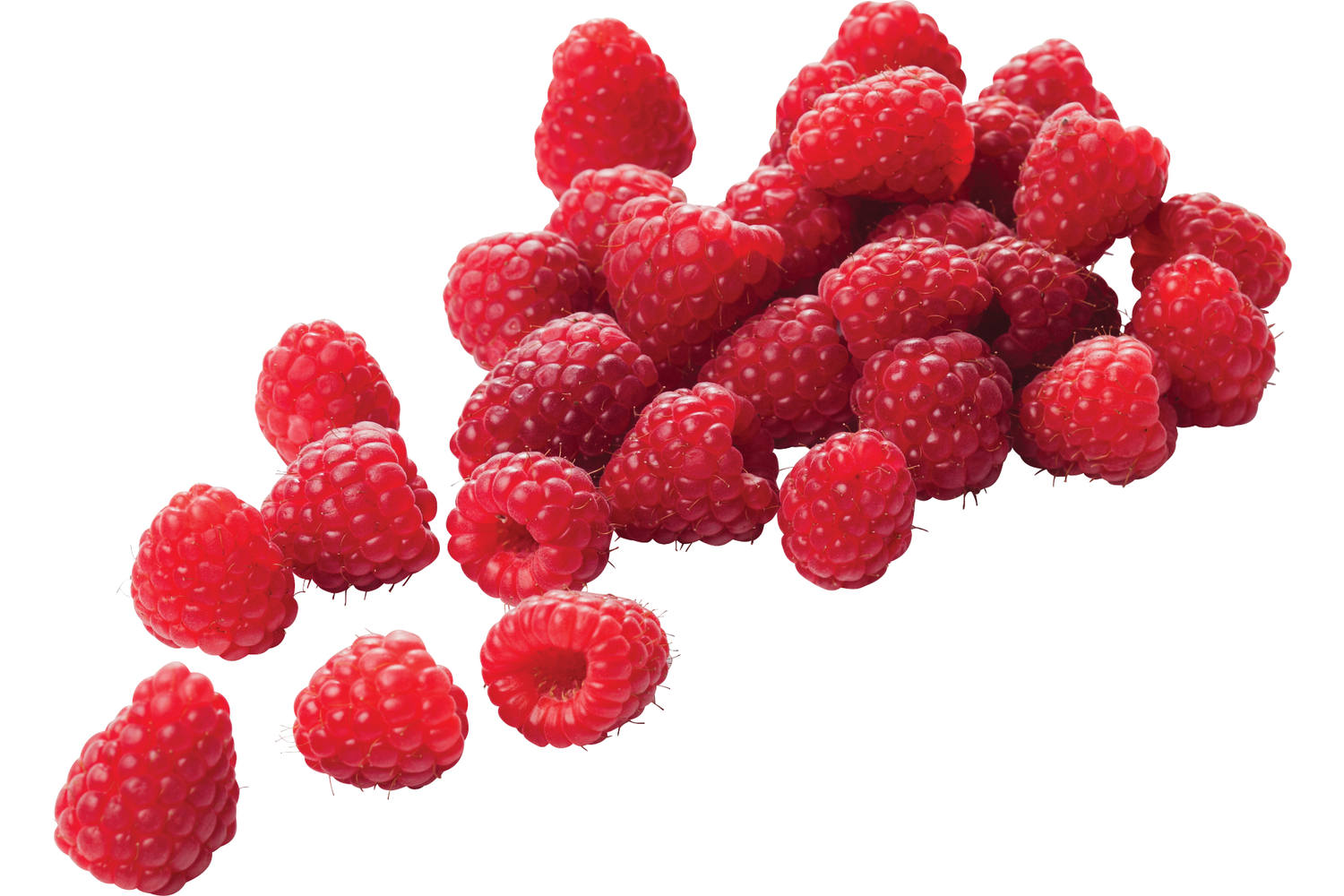 Raspberry 125 gr crade 12 pieces 1