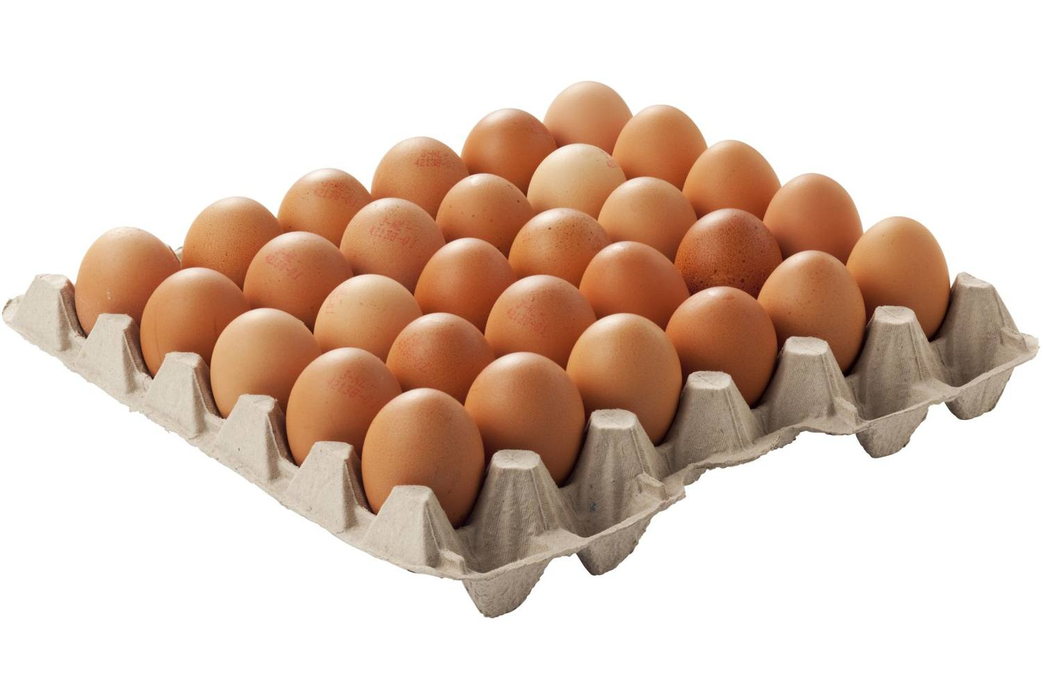 Free-range eggs box crade 90 pieces 1